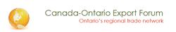 Canada Ontario Export Forum